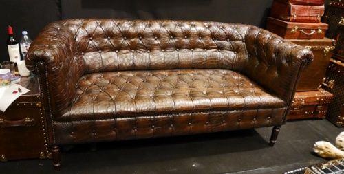 Pleasant Crocodile Leather Leather Dictionary Com The Leather Ocoug Best Dining Table And Chair Ideas Images Ocougorg
